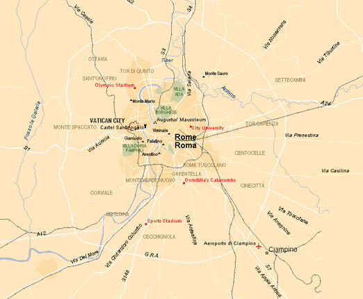 Flatinrome.com - Area of Rome